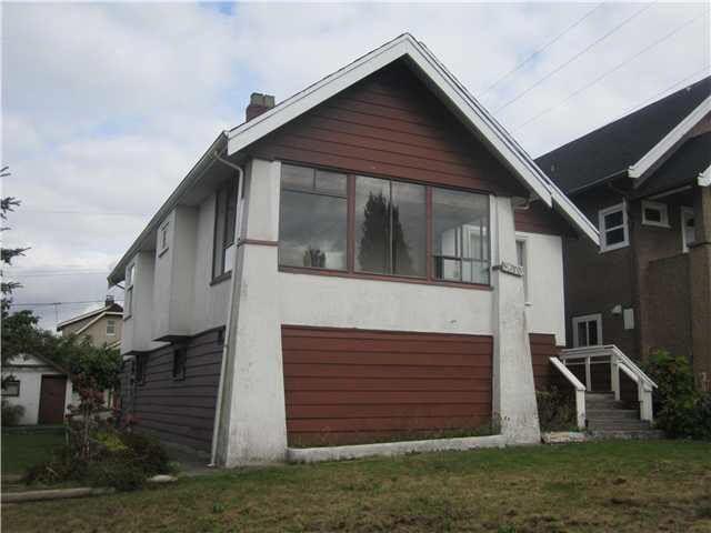 Main Photo: 3673 DUNDAS STREET in : Hastings Sunrise House for sale : MLS®# V1088006