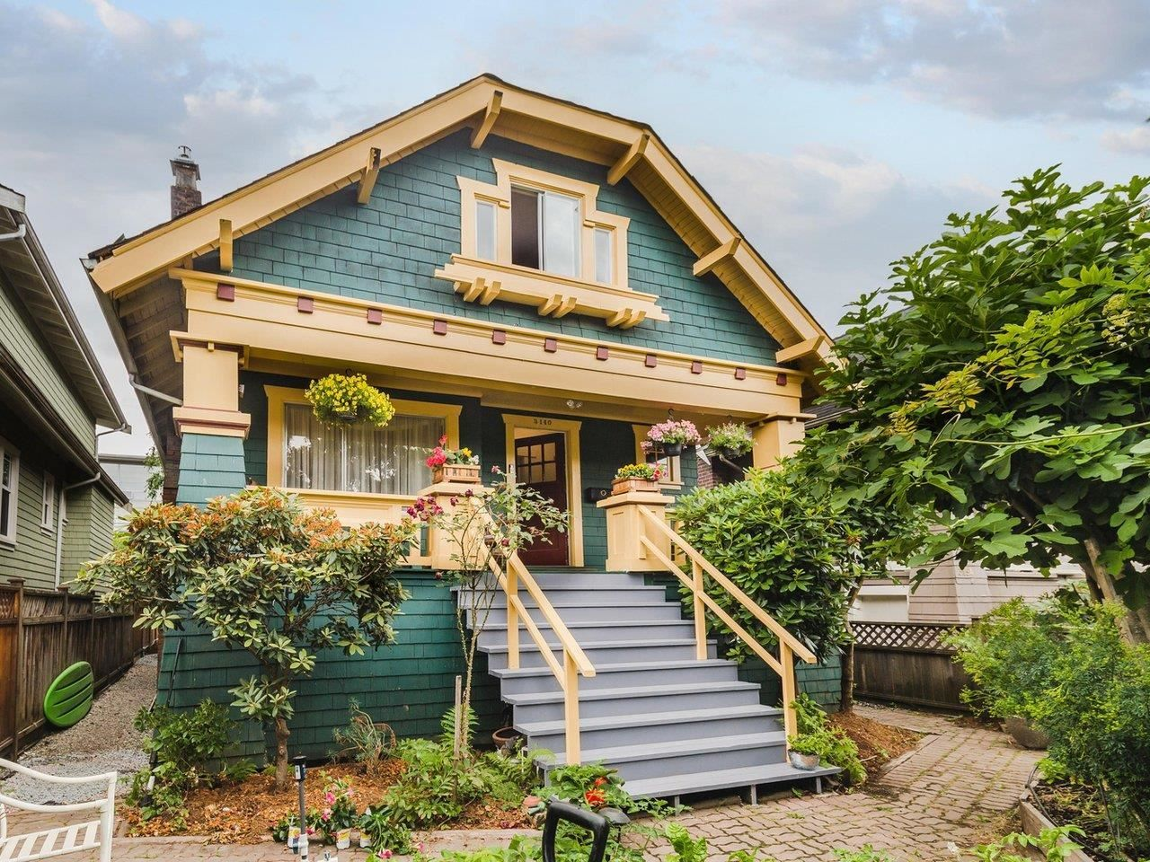Main Photo: 3140 W 3RD Avenue in Vancouver: Kitsilano House for sale (Vancouver West)  : MLS®# R2602425