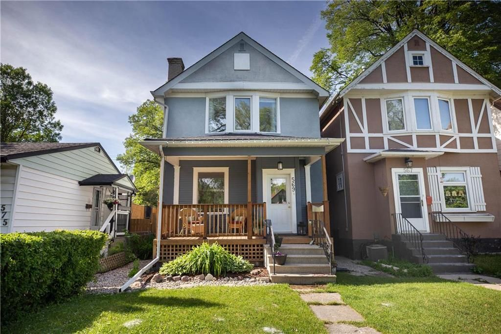 Main Photo: 569 Rosedale Avenue in Winnipeg: Lord Roberts Residential for sale (1Aw)  : MLS®# 202013823