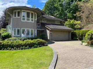 """Photo 1: 6940 ODLUM Court in West Vancouver: Whytecliff House for sale in """"ROCKWOOD ESTATES"""" : MLS®# R2593751"""
