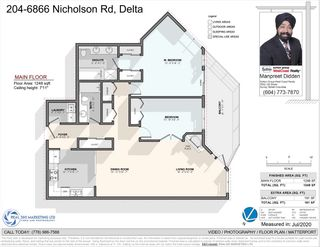 "Photo 12: 204 6866 NICHOLSON Road in Delta: Sunshine Hills Woods Condo for sale in ""Nicholson Green"" (N. Delta)  : MLS®# R2482280"