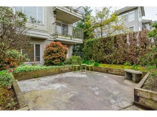"""Photo 18: 106 33502 GEORGE FERGUSON Way in Abbotsford: Central Abbotsford Condo for sale in """"Carina Court"""" : MLS®# R2262879"""