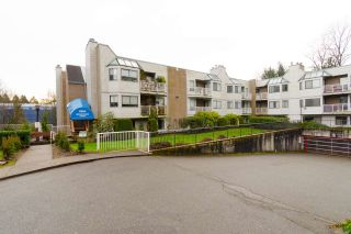 "Photo 1: 106 9584 MANCHESTER Drive in Burnaby: Cariboo Condo for sale in ""BROOKSIDE PARK"" (Burnaby North)  : MLS®# R2333365"