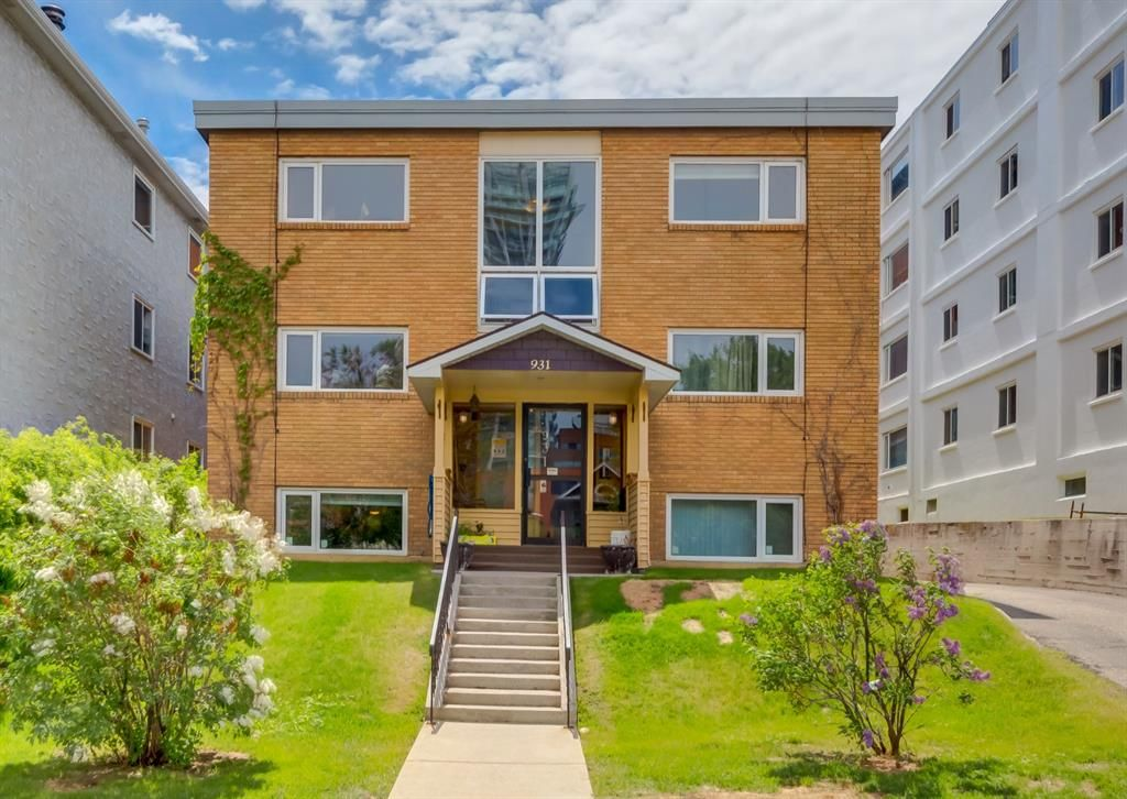 Main Photo: 1 931 19 Avenue SW in Calgary: Lower Mount Royal Apartment for sale : MLS®# A1117797