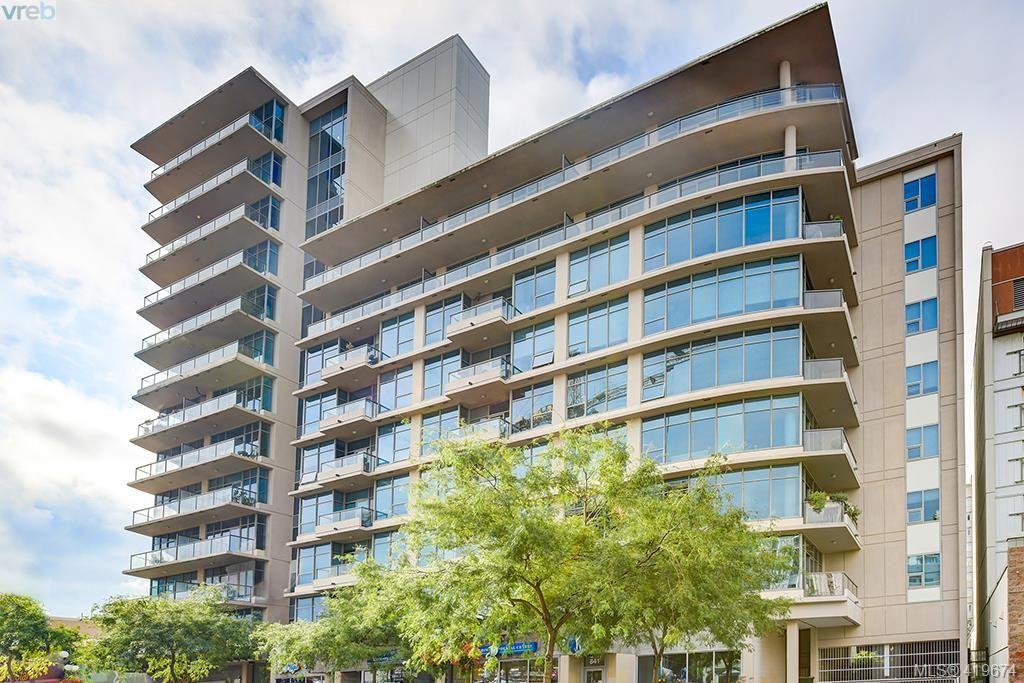 Main Photo: 1211 845 Yates St in VICTORIA: Vi Downtown Condo for sale (Victoria)  : MLS®# 830618
