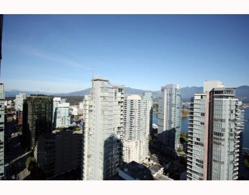 """Photo 7: Photos: 2701 1188 W PENDER Street in Vancouver: Coal Harbour Condo for sale in """"SHAPPHIRE"""" (Vancouver West)  : MLS®# V790032"""