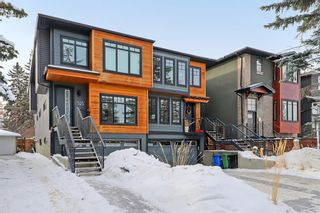 Main Photo: 525 18A Street NW in Calgary: West Hillhurst Semi Detached for sale : MLS®# A1070140