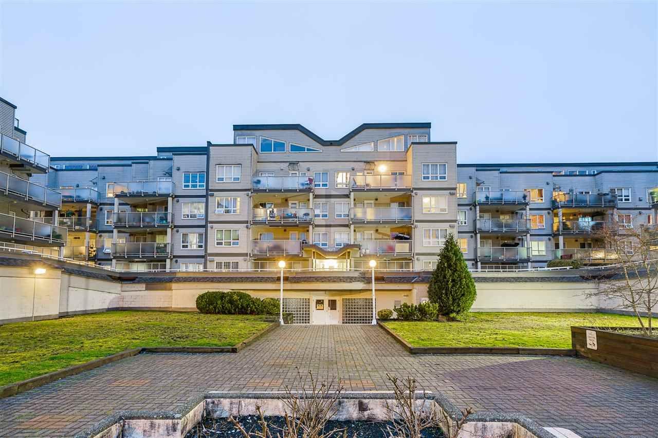 "Main Photo: 416 14377 103 Avenue in Surrey: Whalley Condo for sale in ""CLARIDGE COURT"" (North Surrey)  : MLS®# R2615192"
