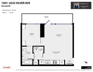 """Photo 23: 1501 6333 SILVER Avenue in Burnaby: Metrotown Condo for sale in """"SILVER"""" (Burnaby South)  : MLS®# R2590151"""