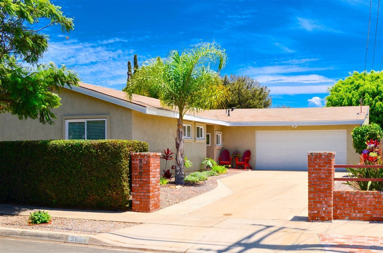 Main Photo: CLAIREMONT House for sale : 3 bedrooms : 3681 MT EVEREST BLVD in San Diego
