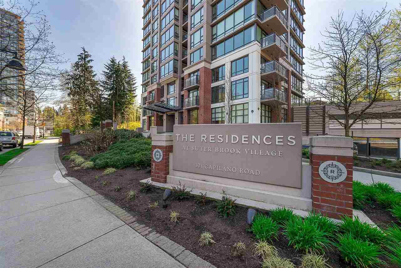 "Main Photo: 601 301 CAPILANO Road in Port Moody: Port Moody Centre Condo for sale in ""The Residences at Suter Brook"" : MLS®# R2510349"