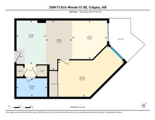 Photo 19: 3309 73 Erin Woods Court SE in Calgary: Erin Woods Apartment for sale : MLS®# A1150602