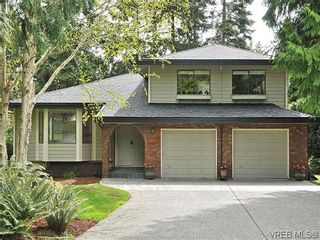 Photo 1: NORTH SAANICH REAL ESTATE = DEAN PARK HOME For Sale SOLD With Ann Watley