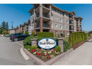 "Photo 2: 212 45769 STEVENSON Road in Sardis: Sardis East Vedder Rd Condo for sale in ""PARK PLACE I"" : MLS®# R2342316"