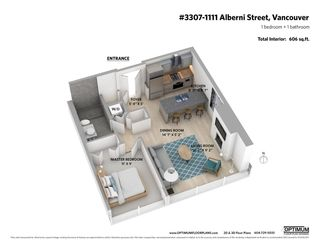 """Photo 21: 3307 1111 ALBERNI Street in Vancouver: West End VW Condo for sale in """"SHANGRI-LA"""" (Vancouver West)  : MLS®# R2558444"""