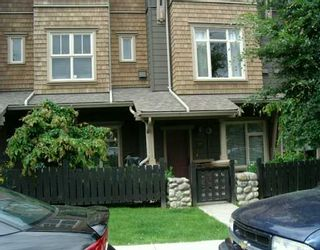"""Photo 1: 133 600 PARK CR in New Westminster: GlenBrooke North Townhouse for sale in """"ROYCROFT"""" : MLS®# V597437"""
