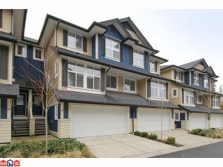 """Photo 1: 21 18199 70TH Avenue in Surrey: Cloverdale BC Townhouse for sale in """"AUGUSTA"""" (Cloverdale)  : MLS®# F1105716"""