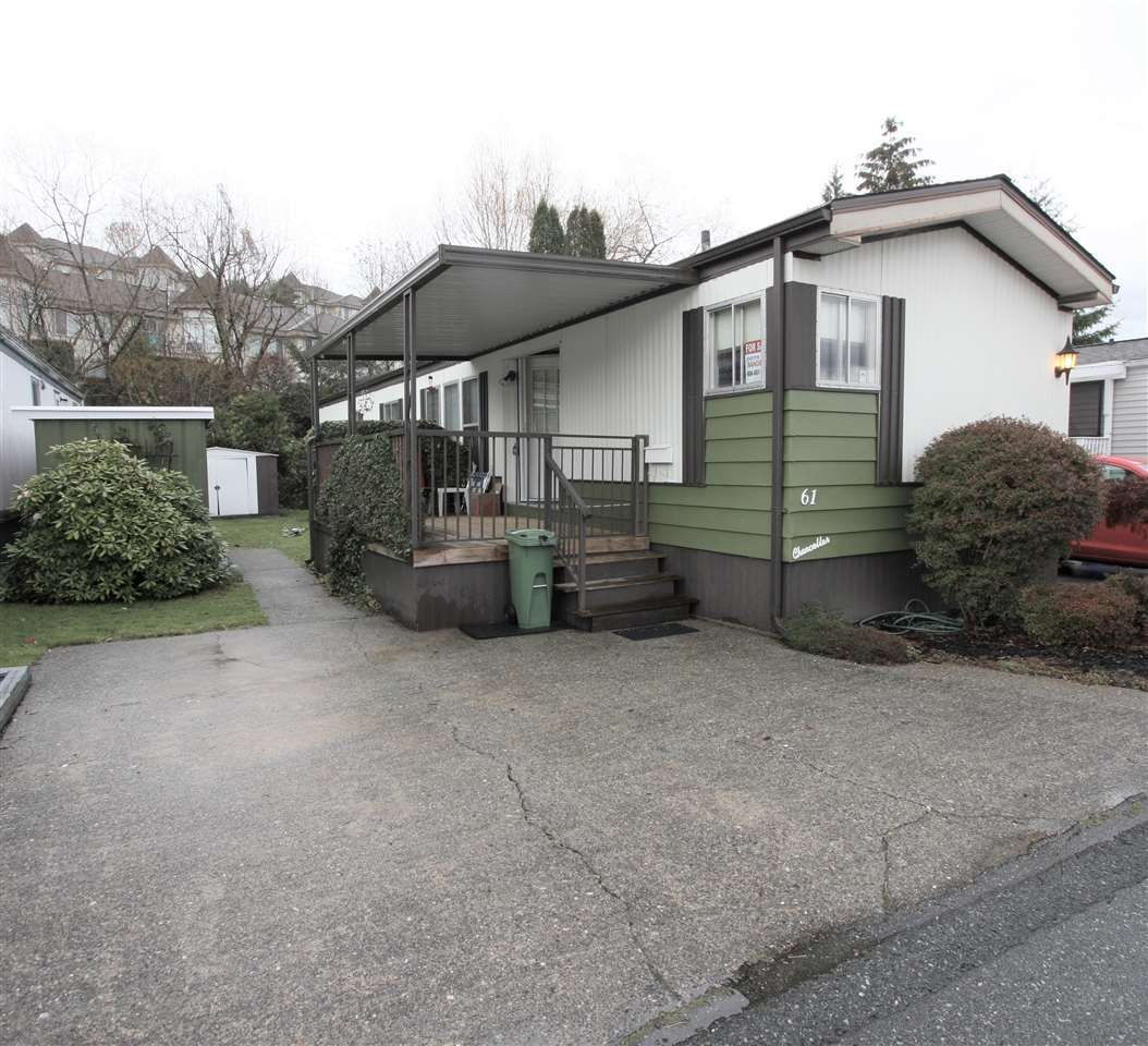 """Main Photo: 61 3300 HORN Street in Abbotsford: Central Abbotsford Manufactured Home for sale in """"Georgian Park"""" : MLS®# R2519380"""