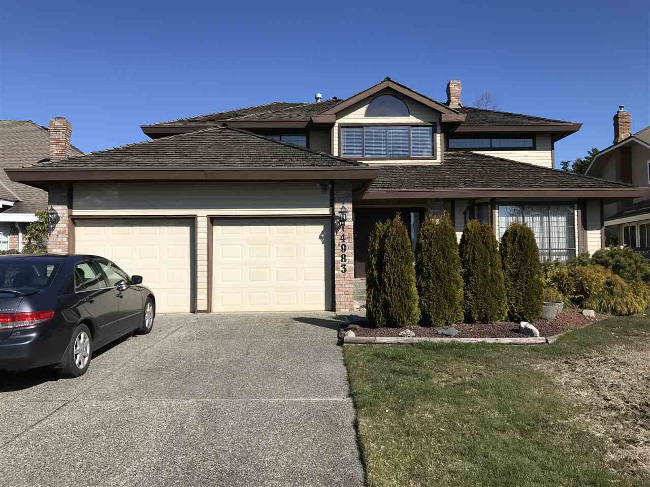 """Main Photo: 14983 21 Avenue in Surrey: Sunnyside Park Surrey House for sale in """"Meridian by the Sea"""" (South Surrey White Rock)  : MLS®# R2447356"""