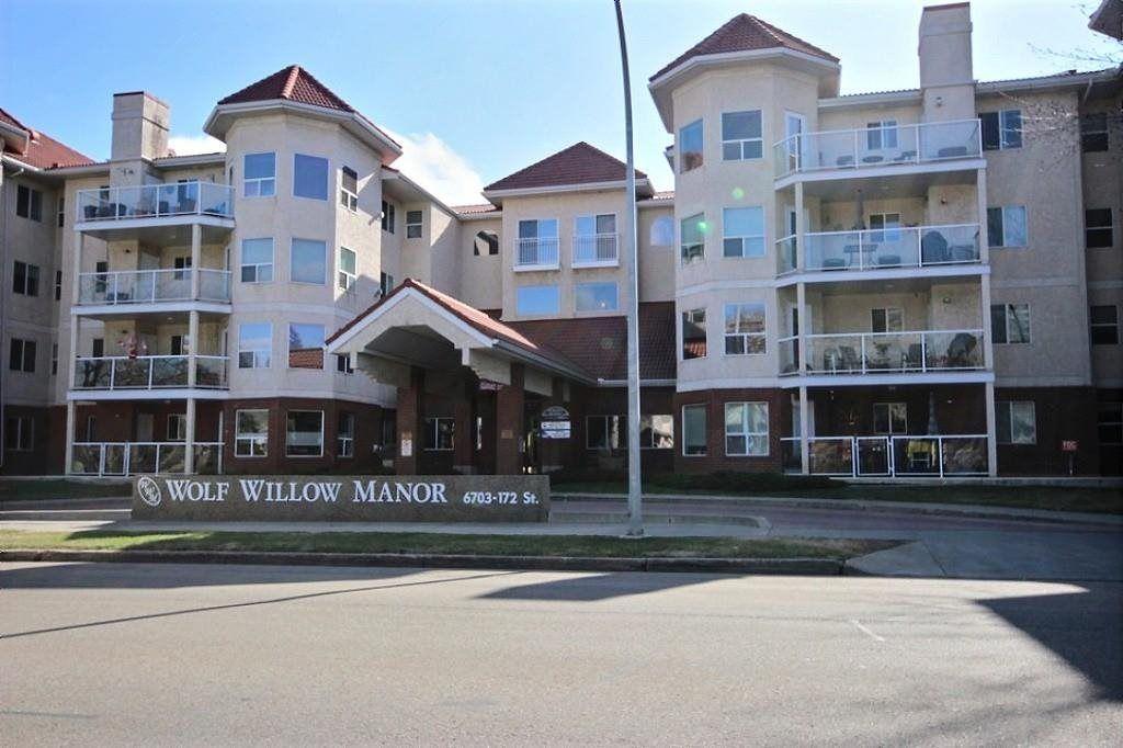 Main Photo: 103 6703 172 Street in Edmonton: Zone 20 Condo for sale : MLS®# E4255592