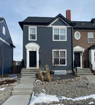 Photo 1: 21 RIVER HEIGHTS Link: Cochrane Row/Townhouse for sale : MLS®# C4286639