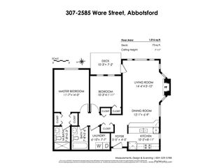 Photo 20: 307 2585 WARE Street in Abbotsford: Central Abbotsford Condo for sale : MLS®# R2414865