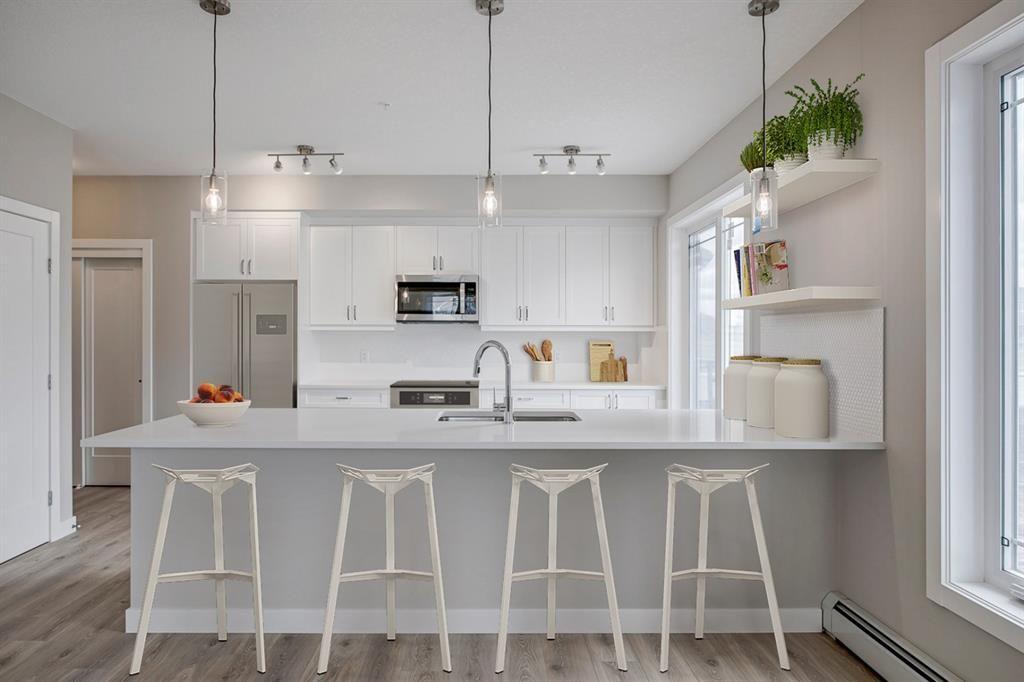 Main Photo: 111 100 Auburn Meadows Manor SE in Calgary: Auburn Bay Apartment for sale : MLS®# A1040865