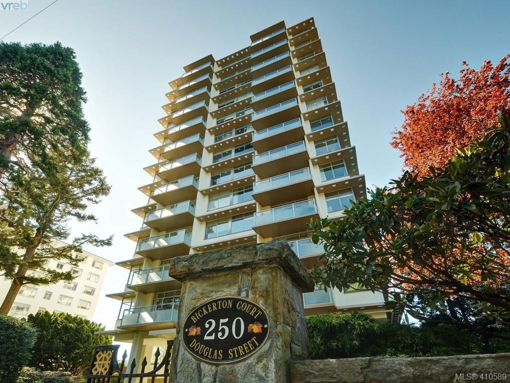 Main Photo: 605 250 Douglas St in VICTORIA: Vi James Bay Condo for sale (Victoria)  : MLS®# 813872