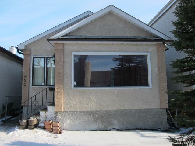 Main Photo: 520 Brandon Avenue in WINNIPEG: Manitoba Other Residential for sale : MLS®# 1505091