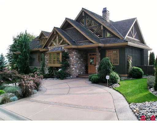 """Main Photo: 2385 CRANBERRY Court in Abbotsford: Abbotsford East House for sale in """"EAGLE MOUNTAIN"""" : MLS®# F2704664"""