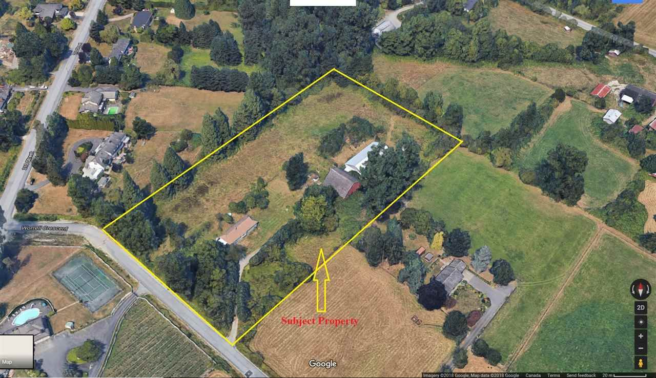 Main Photo: 21065 WORRELL CRESCENT in Langley: Land Commercial  : MLS®# C8018508