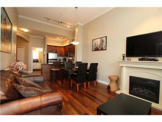 """Photo 4: 407 2627 SHAUGHNESSY Street in Port Coquitlam: Central Pt Coquitlam Condo for sale in """"VILLAGIO"""" : MLS®# V1076806"""
