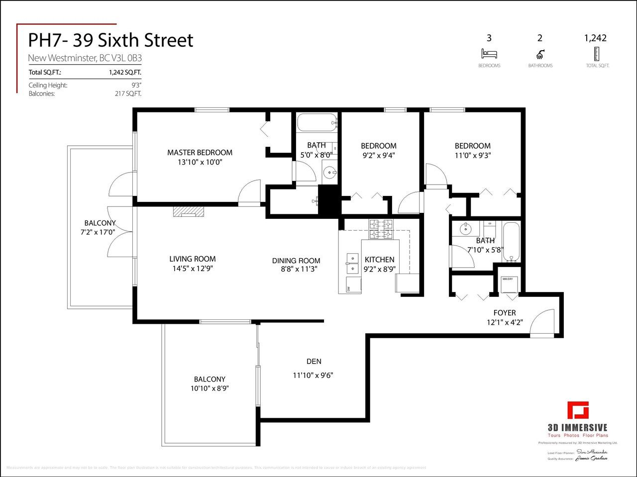 """Photo 30: Photos: PH7 39 SIXTH Street in New Westminster: Downtown NW Condo for sale in """"QUANTUM"""" : MLS®# R2575142"""