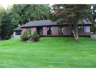 """Photo 1: 13450 BALSAM Crescent in Surrey: Elgin Chantrell House for sale in """"ELGIN-CHANTRELL"""" (South Surrey White Rock)  : MLS®# F1413114"""