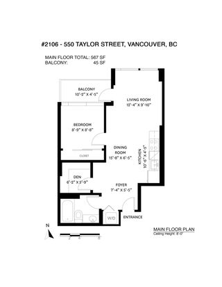 Photo 36: 2106 550 TAYLOR Street in Vancouver: Downtown VW Condo for sale (Vancouver West)  : MLS®# R2602844