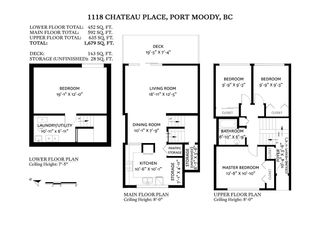 "Photo 31: 1118 CHATEAU Place in Port Moody: College Park PM Townhouse for sale in ""CHATEAU PLACE"" : MLS®# R2572180"