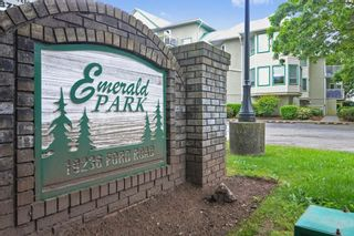 """Photo 1: 113 19236 FORD Road in Pitt Meadows: Central Meadows Condo for sale in """"Emerald Park"""" : MLS®# R2614696"""
