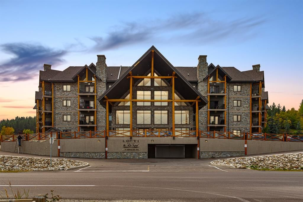 Main Photo: 204 77 GEORGE FOX Trail: Cochrane Apartment for sale : MLS®# A1061402
