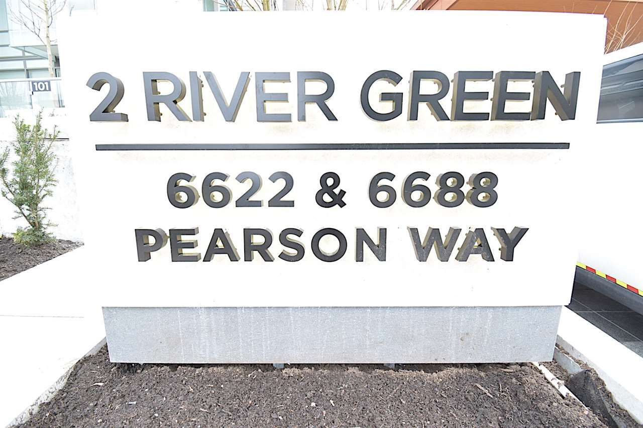 "Main Photo: 606 6688 PEARSON Way in Richmond: Brighouse Condo for sale in ""2 RIVER GREEN"" : MLS®# R2564981"