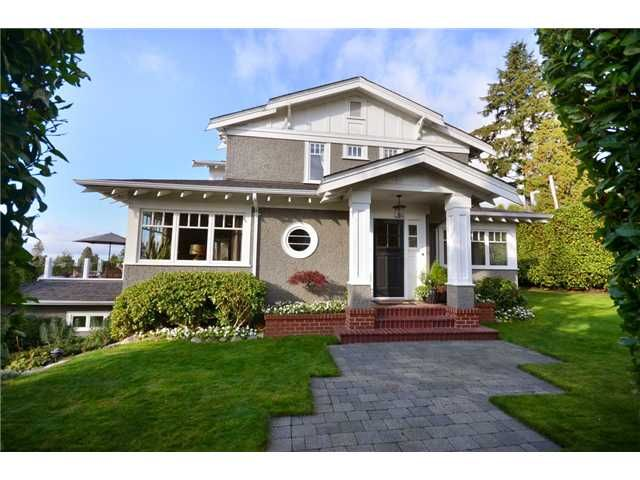 Main Photo: 1395 23RD Street in West Vancouver: Dundarave House for sale : MLS®# V949727