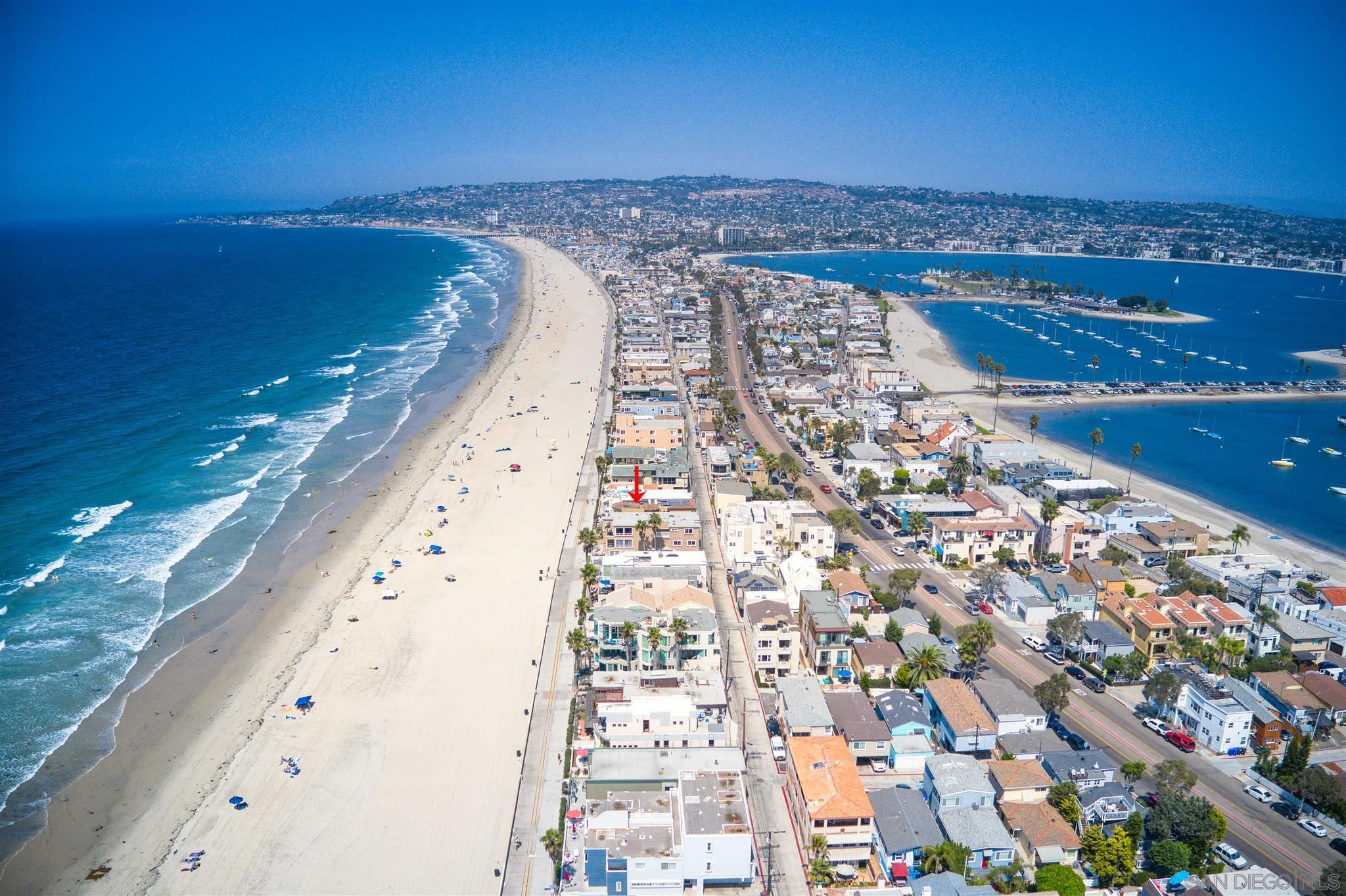 Main Photo: MISSION BEACH House for sale : 5 bedrooms : 3409 Ocean Front Walk in San Diego