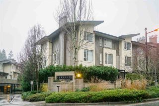 """Photo 2: 100 9229 UNIVERSITY Crescent in Burnaby: Simon Fraser Univer. Townhouse for sale in """"SERENITY"""" (Burnaby North)  : MLS®# R2329232"""