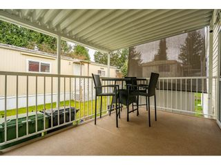 """Photo 22: 186 7790 KING GEORGE Boulevard in Surrey: East Newton Manufactured Home for sale in """"Crispen Bays"""" : MLS®# R2560382"""