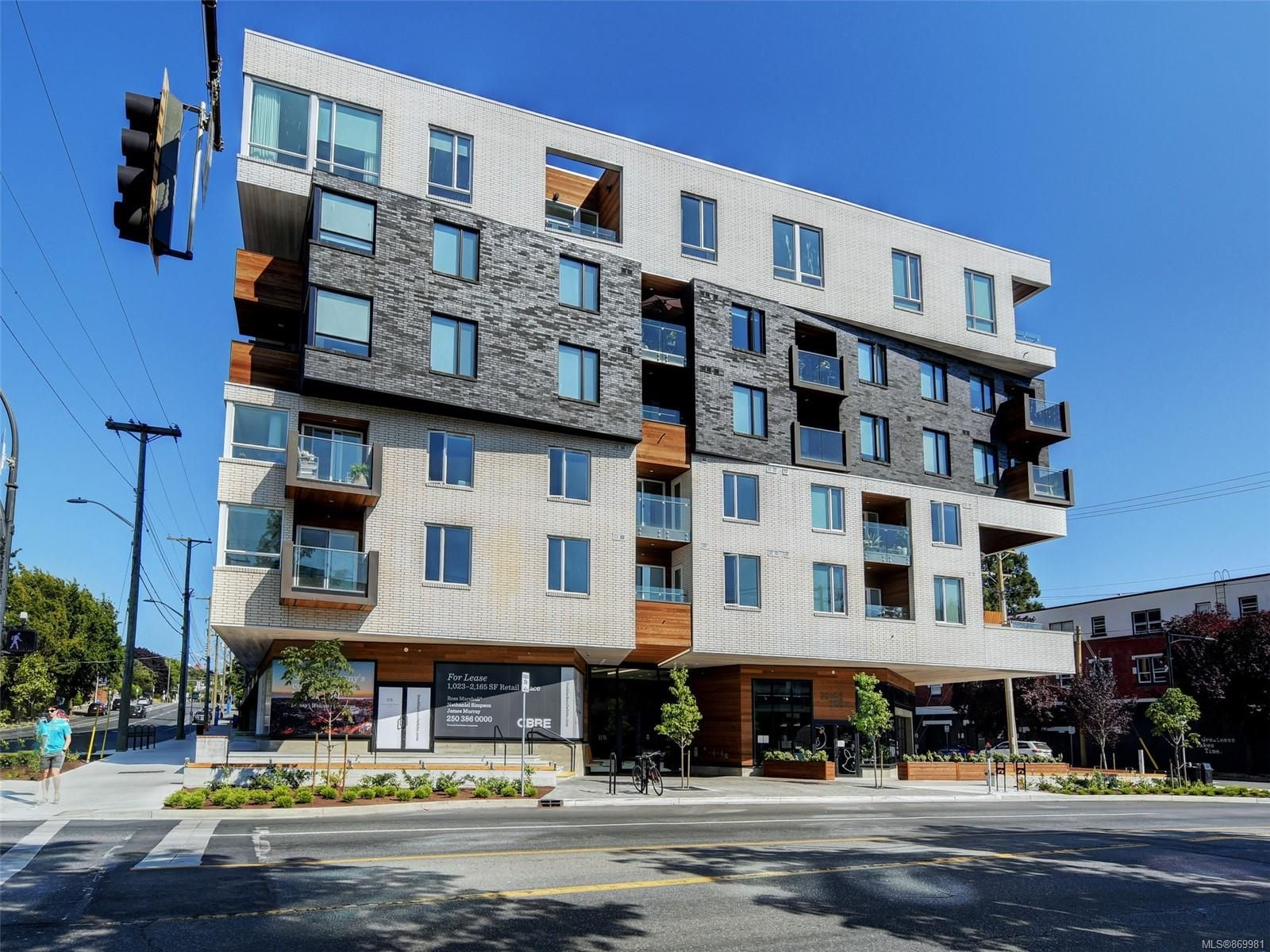 Main Photo: 413 1033 Cook St in : Vi Downtown Condo for sale (Victoria)  : MLS®# 869981