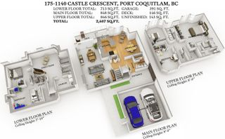 """Photo 2: 175 1140 CASTLE Crescent in Port Coquitlam: Citadel PQ Townhouse for sale in """"The Uplands"""" : MLS®# R2619994"""