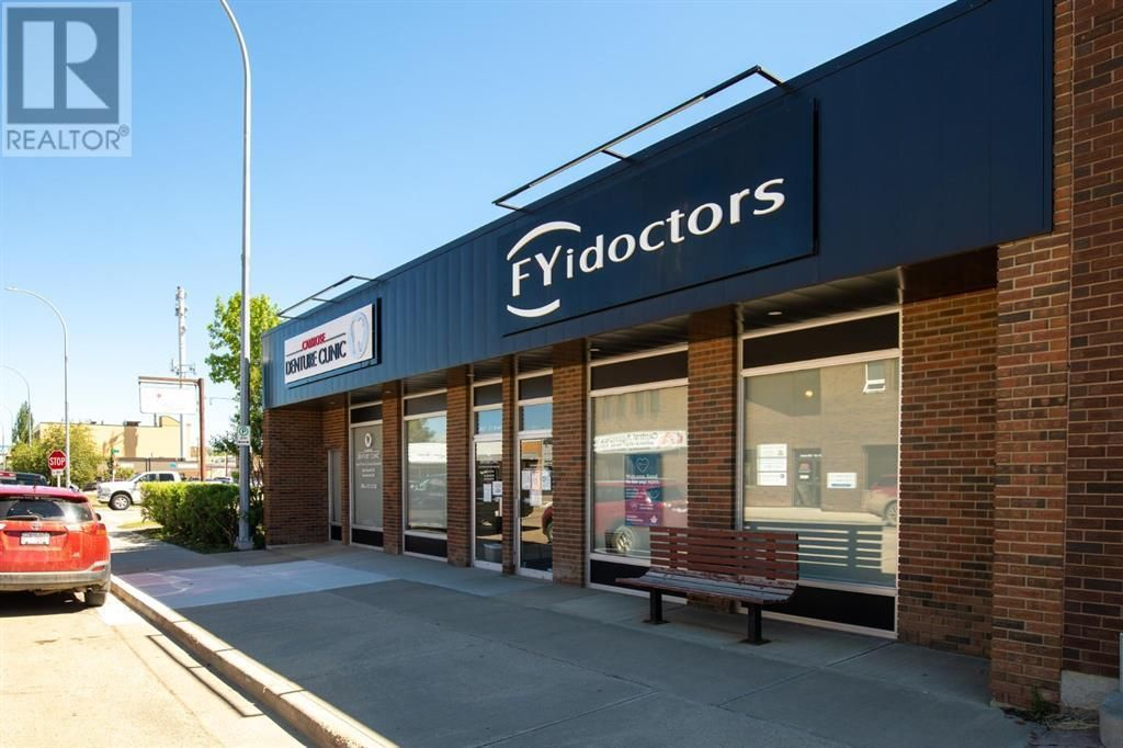 Main Photo: 4867 51 Street in Camrose: Retail for lease : MLS®# A1119726