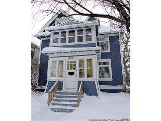Photo 1: 804 Honeyman Avenue in WINNIPEG: West End / Wolseley Residential for sale (West Winnipeg)  : MLS®# 1401553