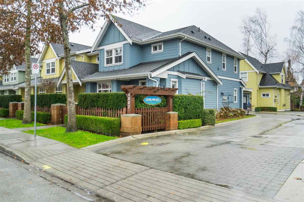 Main Photo: 2 4887 CENTRAL AVENUE in Delta: Hawthorne Townhouse for sale (Ladner)  : MLS®# R2522234
