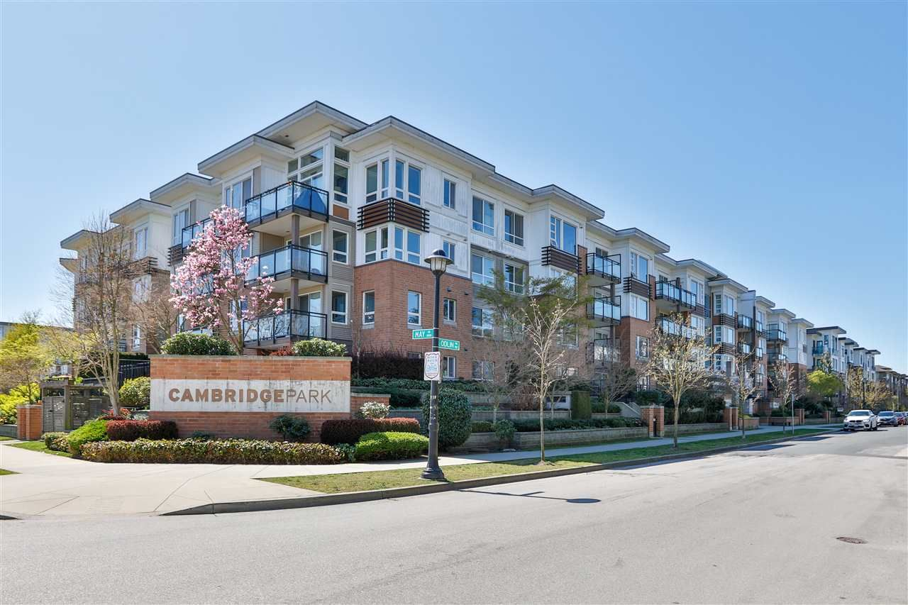 "Main Photo: 313 9500 ODLIN Road in Richmond: West Cambie Condo for sale in ""Cambridge Park"" : MLS®# R2569734"