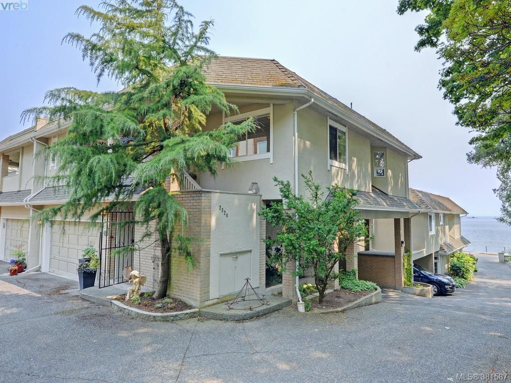 Main Photo: 2324 Esplanade in VICTORIA: OB Estevan Row/Townhouse for sale (Oak Bay)  : MLS®# 766666